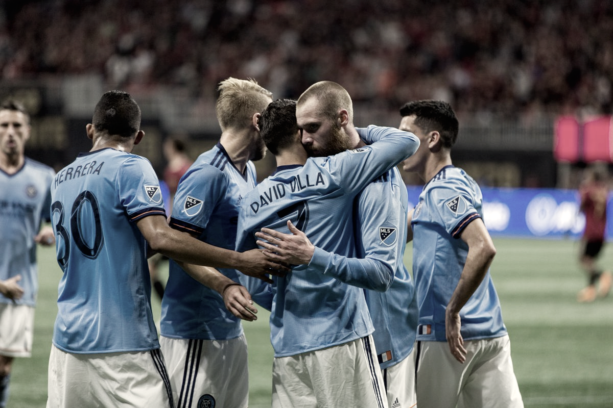 NYCFC come from behind twice in Atlanta to remain unbeaten