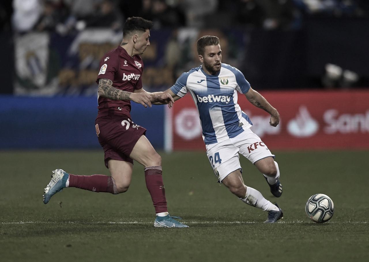 Resumen Leganés vs Alavés en LaLiga Santander 2020 (1-1)