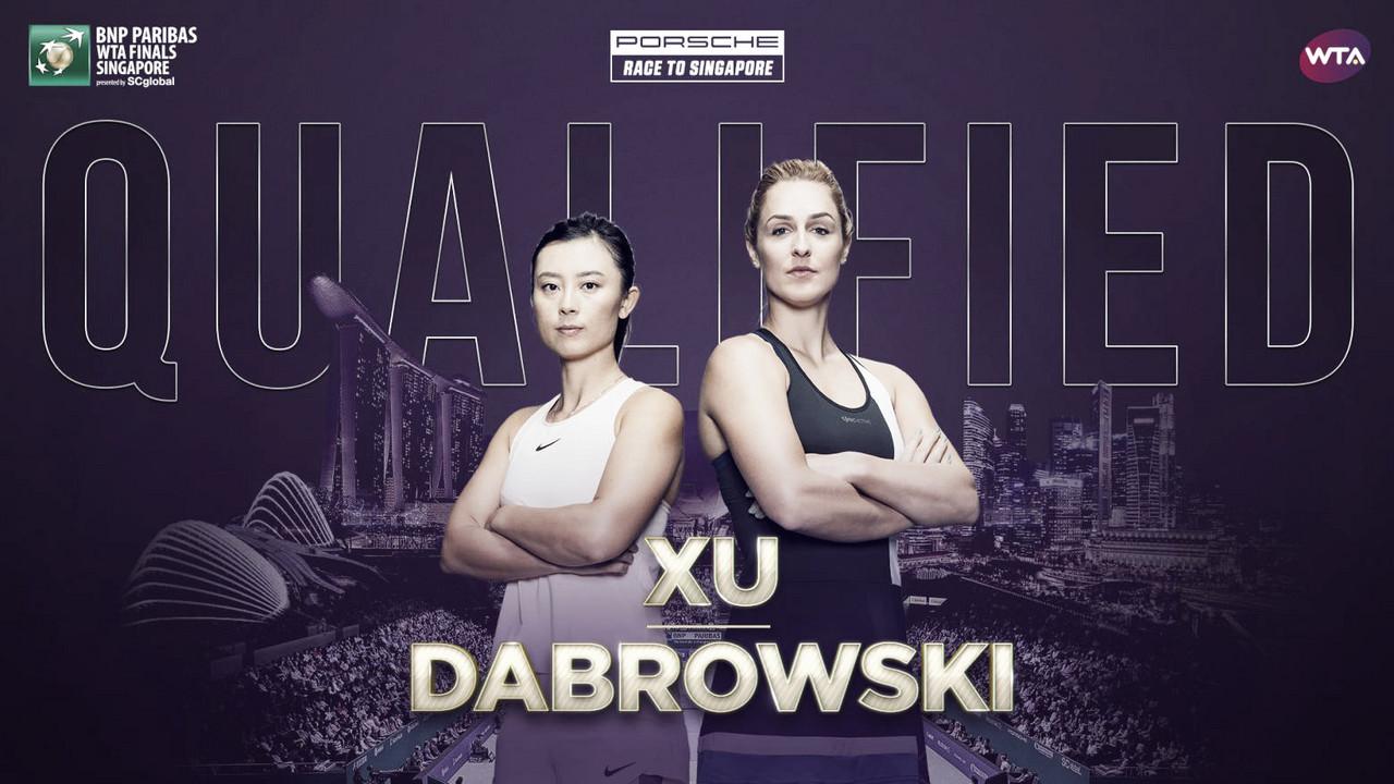 Gabriela Dabrowski and Xu Yifan qualify for WTA Finals