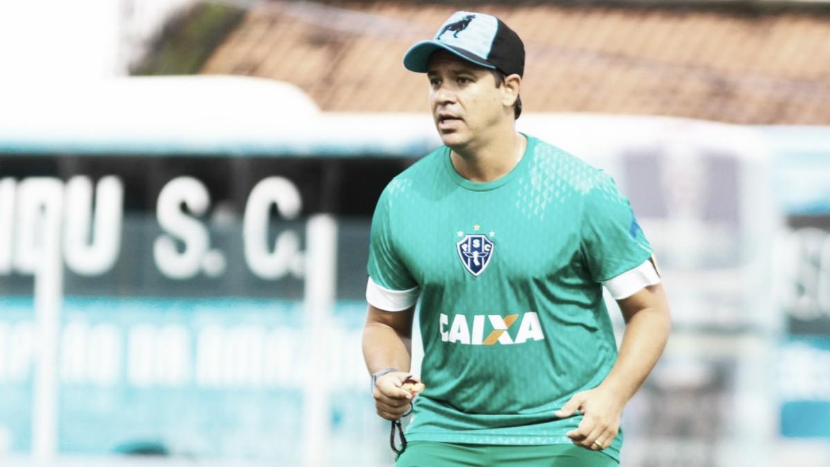 """Dado Cavalcanti espera adaptação de titulares do Paysandu contra São Raimundo: """"É um fato novo"""""""