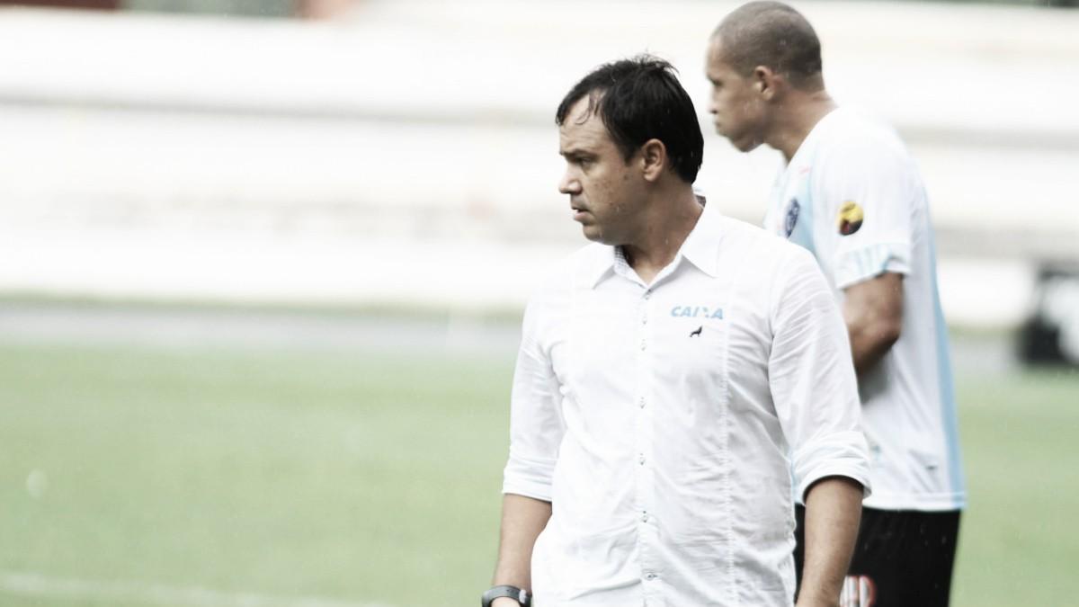 """Dado Cavalcanti lamenta perda de 100% no Paysandu: """"Criamos pouco nesse jogo"""""""