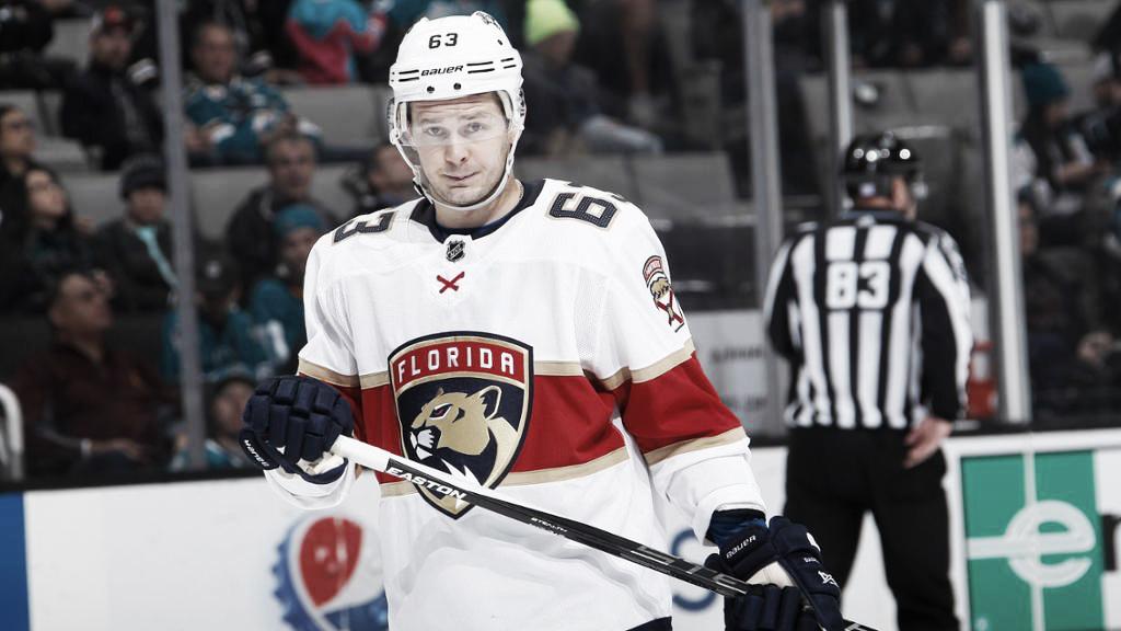 Evgenii Dadonov ha tenido una gran segunda etapa en la NHL