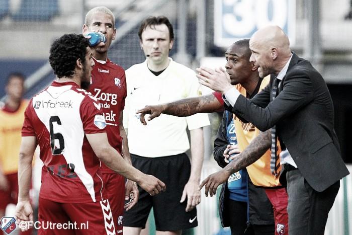 Erik ten Hag apunta alto con el FC Utrecht