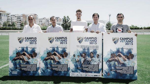 El Campus del Málaga CF viajará por la provincia costasoleña