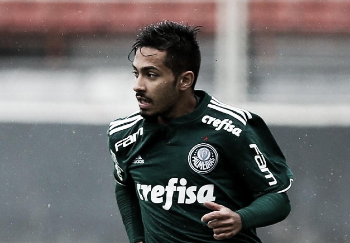 Em jogo de dez gols, Palmeiras bate Internacional pelo Brasileiro Sub-20
