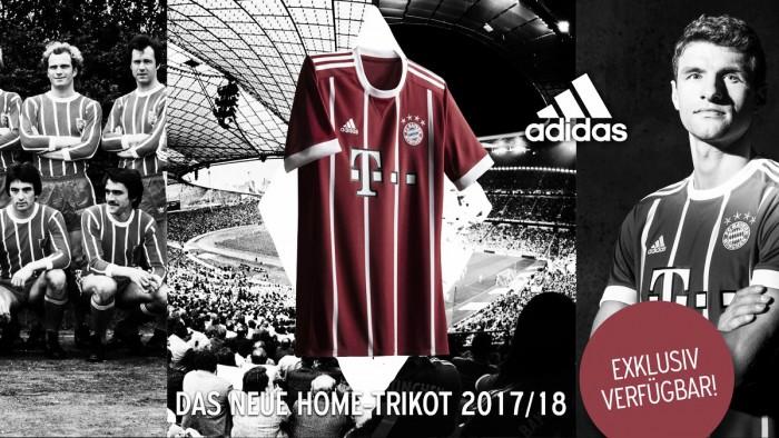 Inspirado nos anos 70, Bayern de Munique lança uniforme para próxima temporada