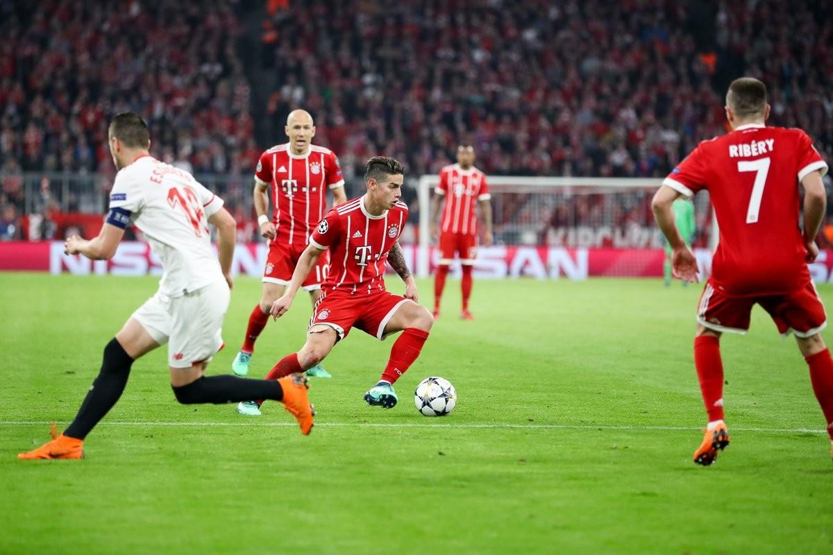 Champions League - Il Bayern rischia poco contro il Siviglia e passa il turno: 0-0 all'Allianz Arena