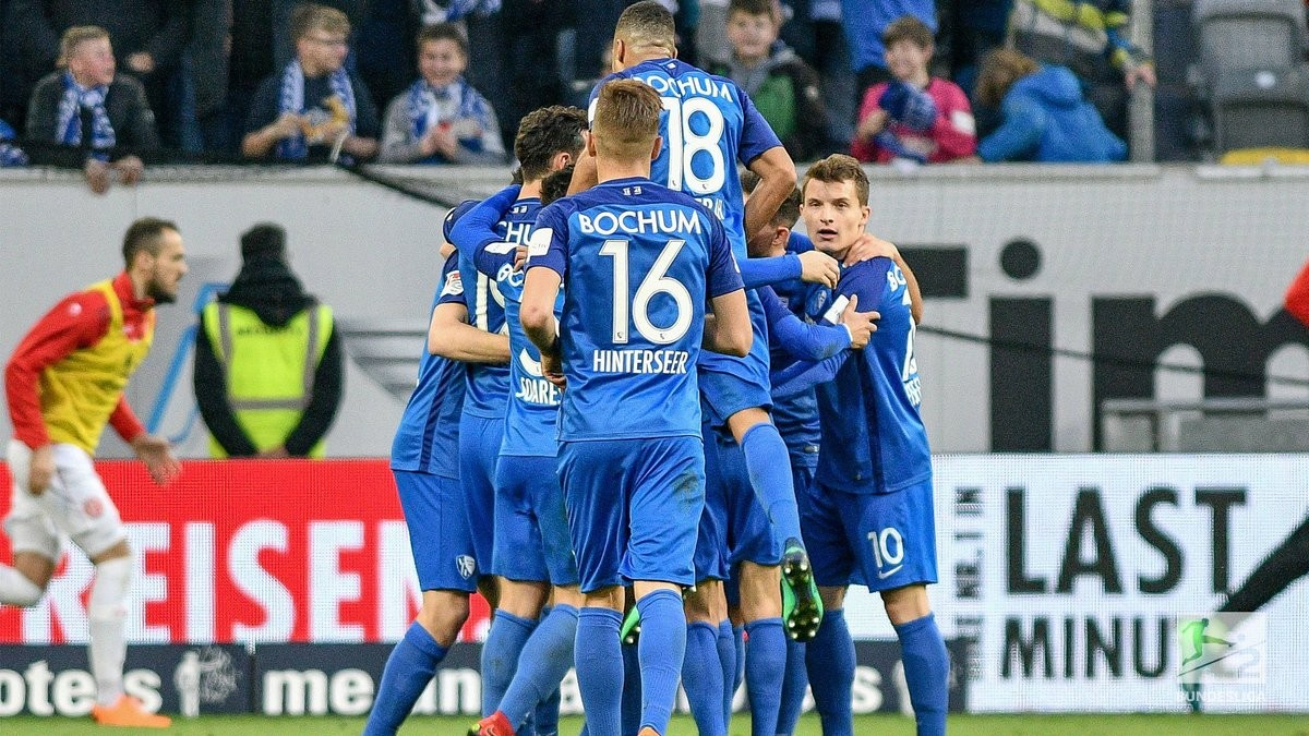 Fortuna Düsseldorf 1-2 VfL Bochum: Visitors hold their nerve to stun leaders