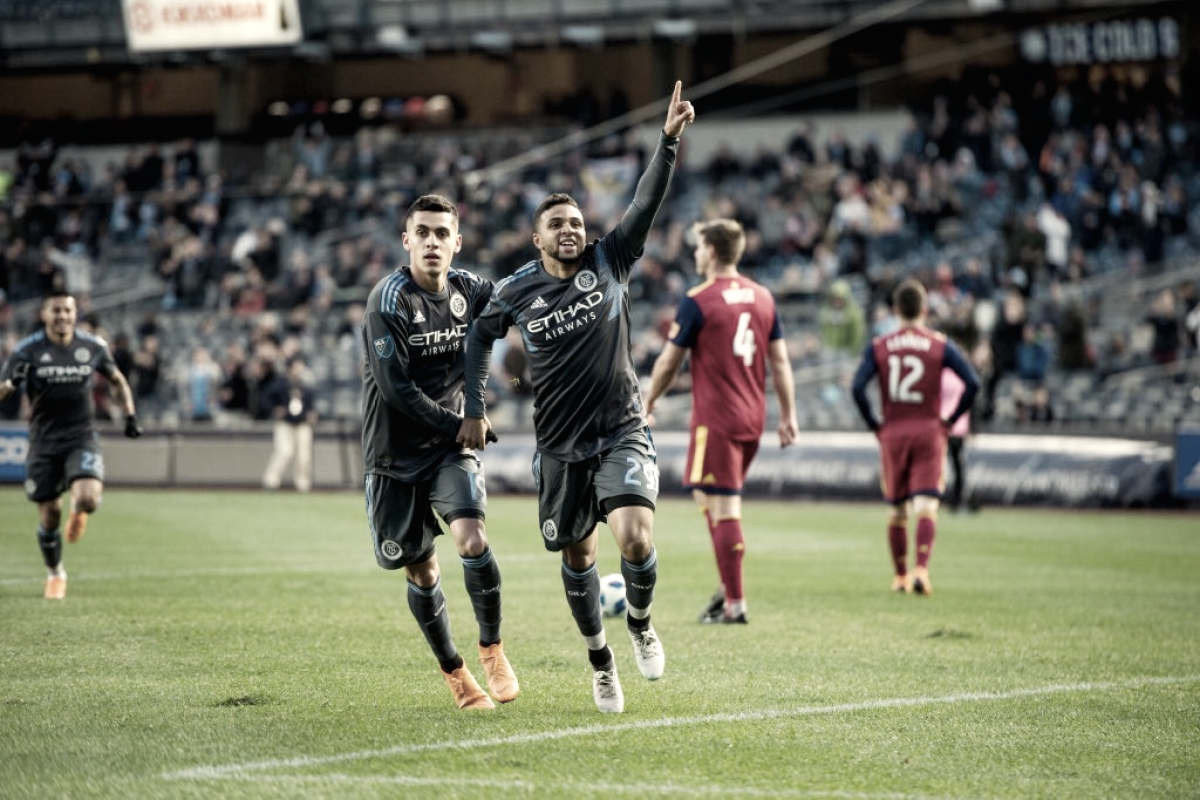 New York City FC storm past Real Salt Lake with 4-0 win