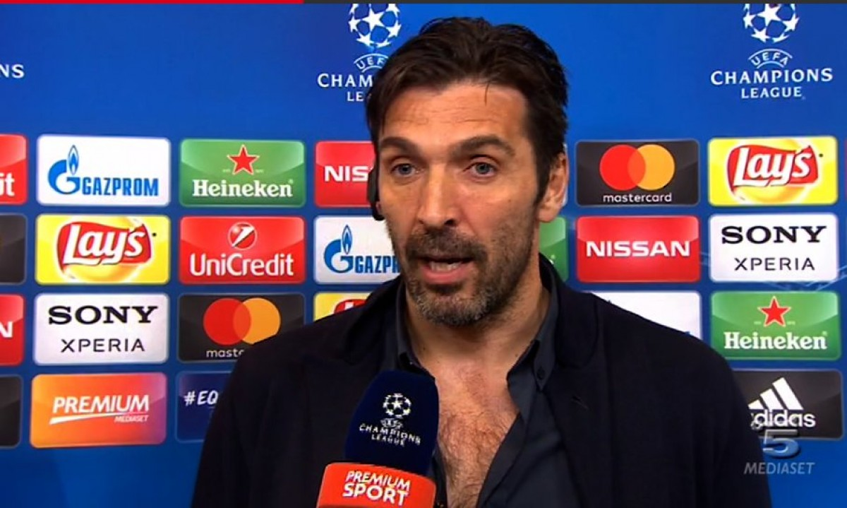 "Champions League - La rabbia di Buffon: ""Arbitro incapace"""