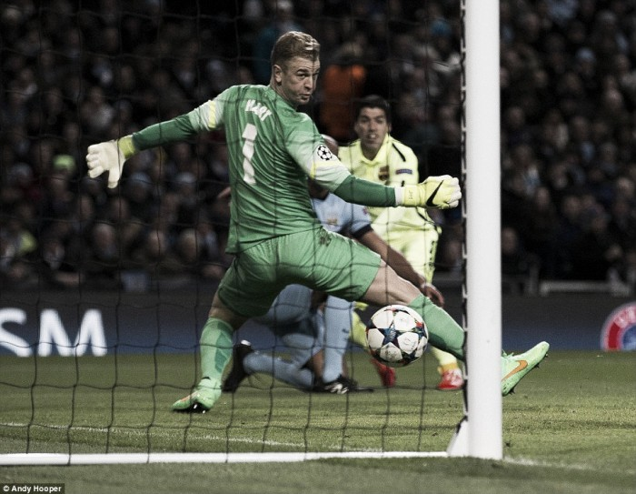 Joe Hart set to remain Manchester City number one