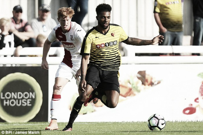 Jerome Sinclair opens up about new life at Watford