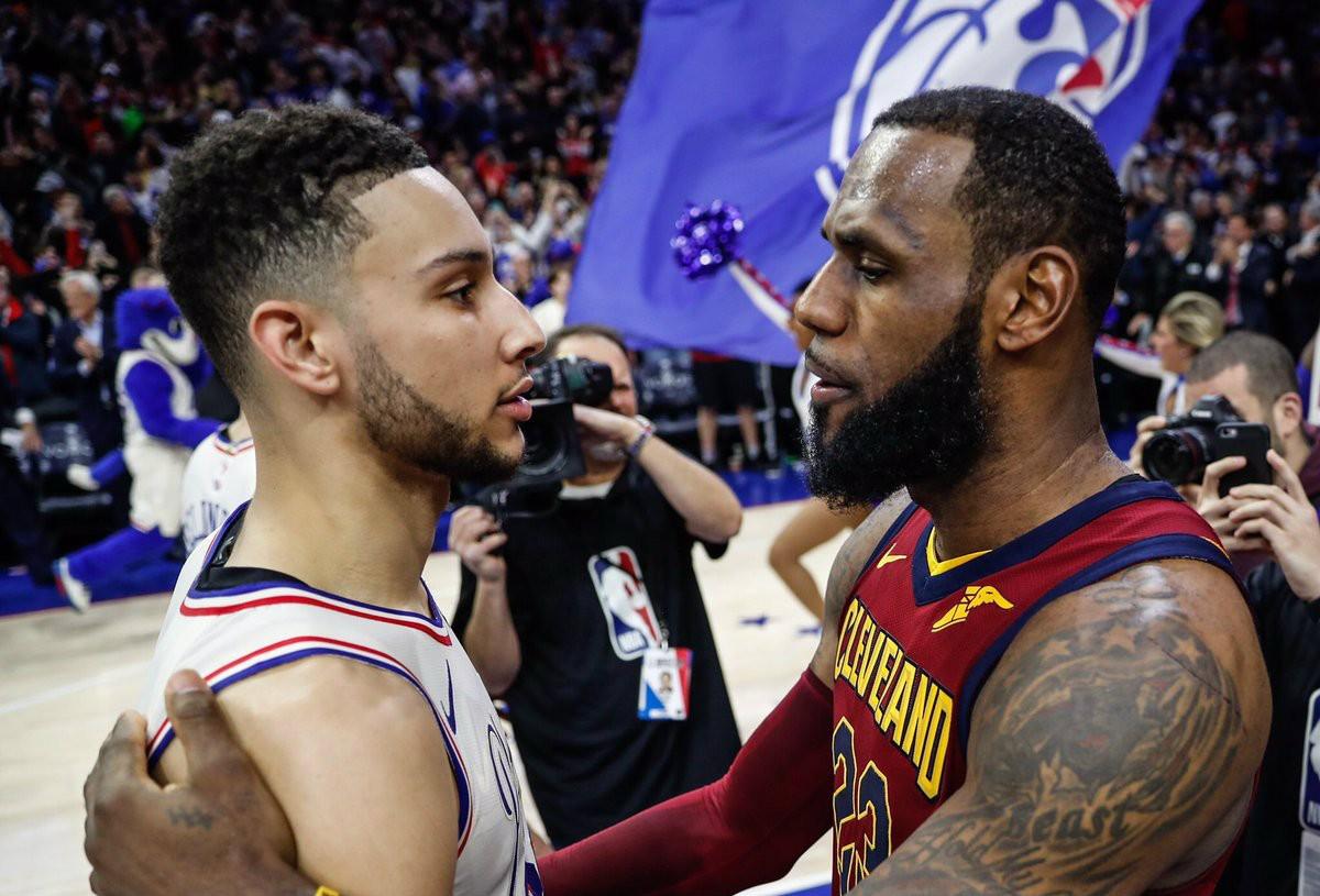 NBA- Lebron non basta a Cleveland per superare i 76ers