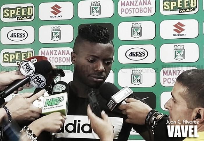 """Cristian Dájome: """"el fútbol de uno habla por sí solo"""""""