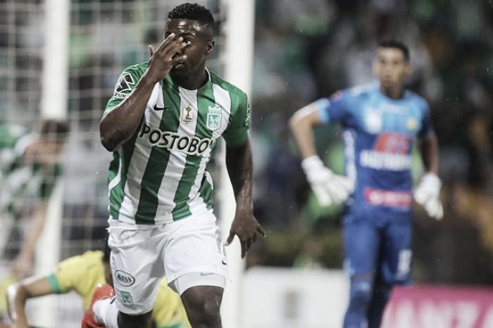 """Cristian Dájome: """"Gracias a Dios por fin pude despegar y marcar dos goles"""""""