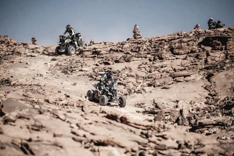 Los Quads argentinos dominan en el Dakar