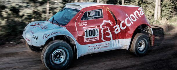El primer coche eléctrico del Dakar