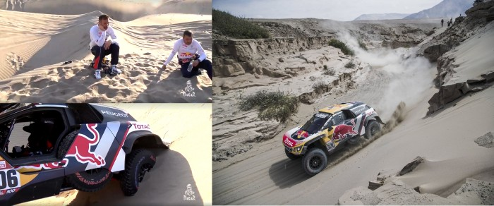 Dakar 2018 - Peterhansel fa il vuoto, Loeb va out!