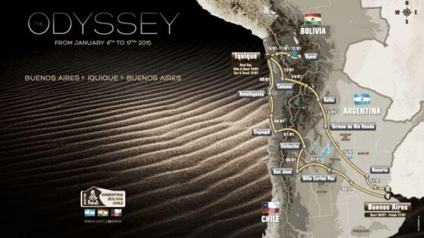 Rally Dakar, presentata a Parigi l'edizione 2015