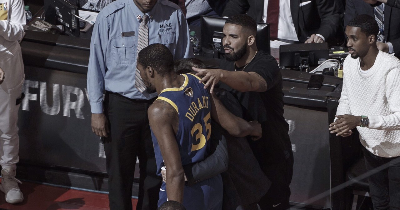 Drake honra a Durant en su último éxito