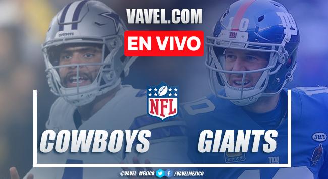 Resumen y touchdowns Dallas Cowboys 37-18 New York Giants en NFL 2019