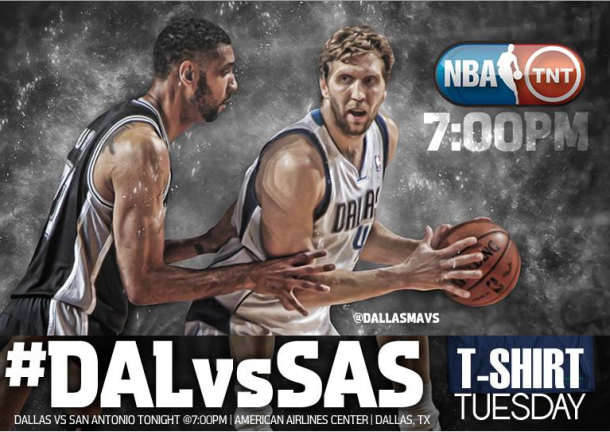 Rileggi il Live: Dallas Mavericks-San Antonio Spurs, Regular Season Nba (101-94)