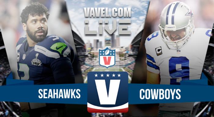 Score: Dallas Cowboys vs Seattle Seahawks in NFL Preseason (17-27)