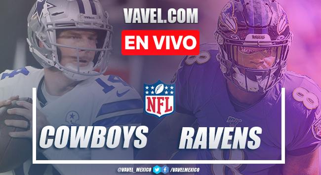 Resumen y Touchdowns del Dallas Cowboys 17-34 Baltimore Ravens, en Semana 13 NFL