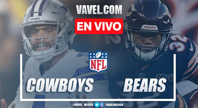 Resumen y toudchdowns: Dallas Cowboys 24-31 Chicago Bears en NFL 2019
