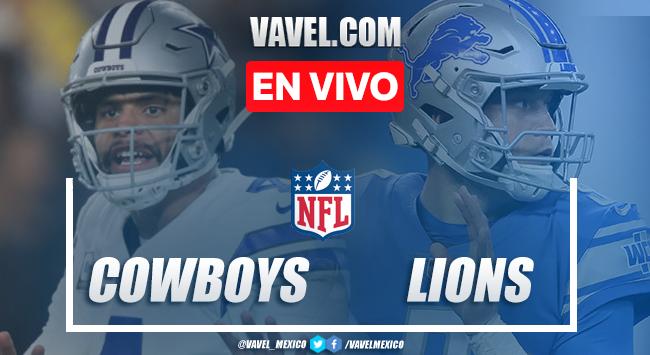 Resumen y touchdowns: Dallas Cowboys 35-27 Detroit Lions en NFL 2019