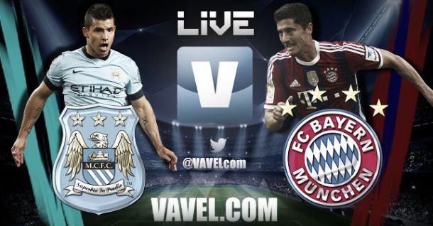 Partido Manchester City vs Bayern Munich en vivo online