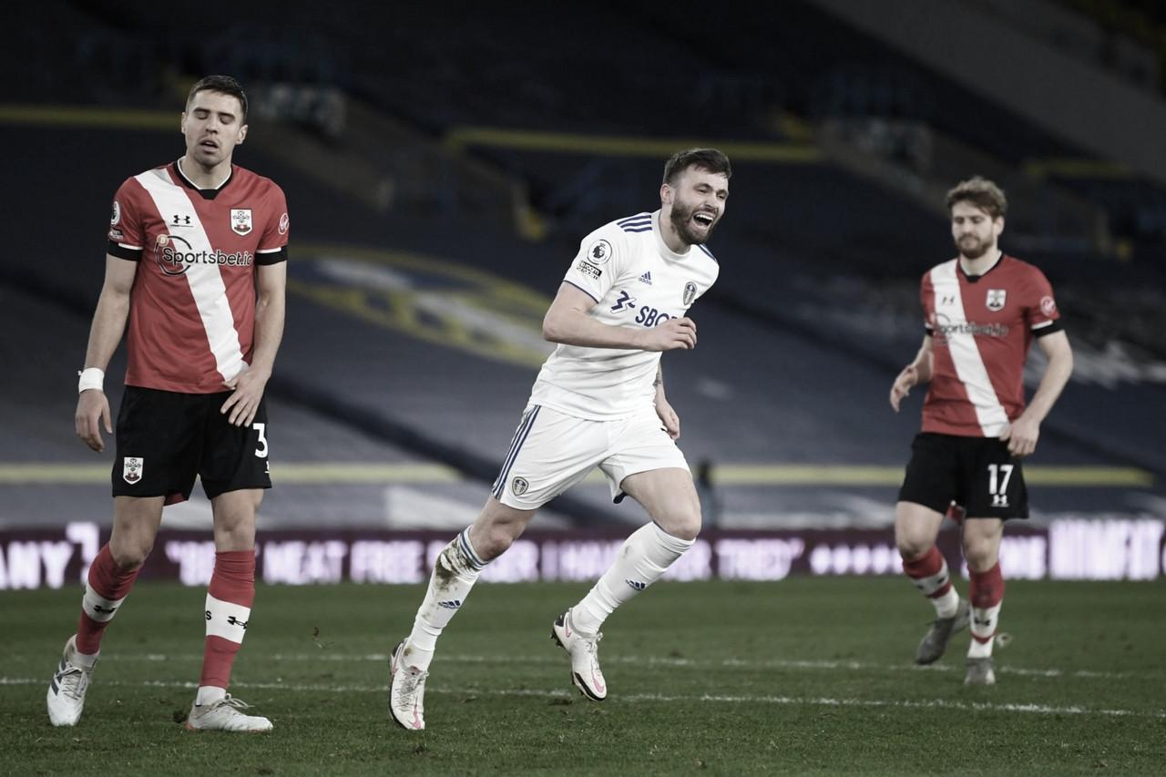 El Leeds se recupera con una goleada ante el Southampton