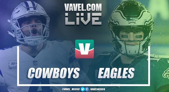 Resumen y touchdowns del Dallas Cowboys 27-20 Philadelphia Eagles en NFL 2018