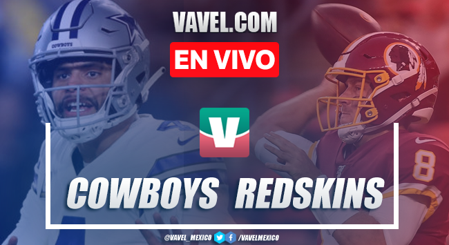 Resumen y touchdwons: Dallas Cowboys (31-21) Washington Redskins