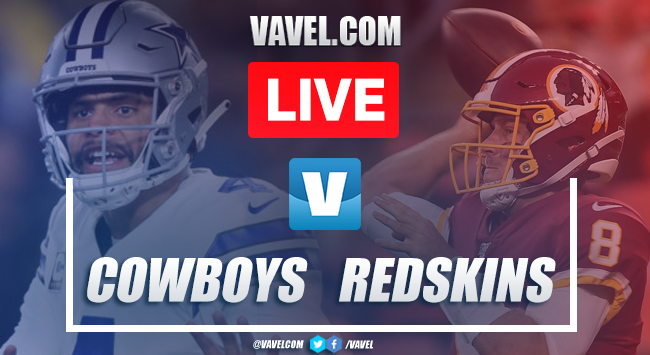 Dallas Cowboys vs Washington Redskins: Live Stream Online TV Updates and How to Watch NFL 2019 (0-0)