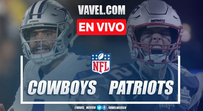 Resumen y Touchdowns: Dallas Cowboys 9-13 New England Patriots en NFL 2019