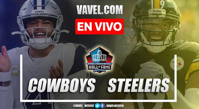 Resumen y touchdowns del Cowboys 3-16 Steelers en Juego del Salón de la Fama 2021