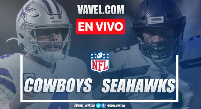 Dallas Cowboys vs Seattle Seahawks EN VIVO cómo ver tranmisión TV online en NFL 2020 (0-0)