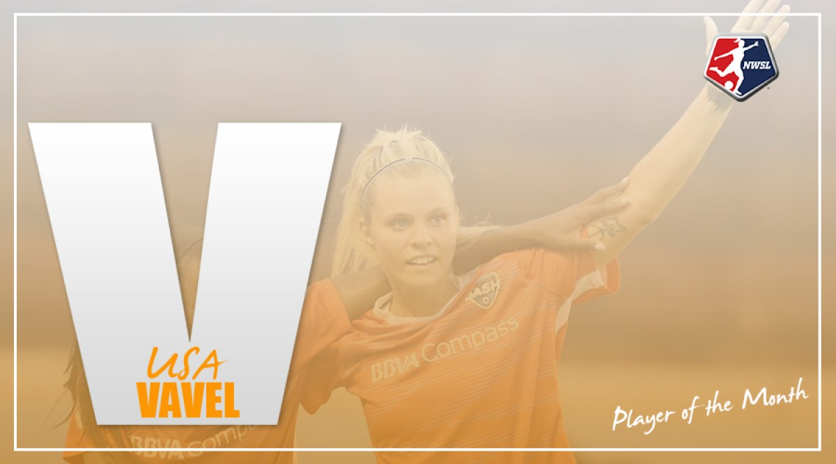 Rachel Daly named NWSL Player of the Month for May