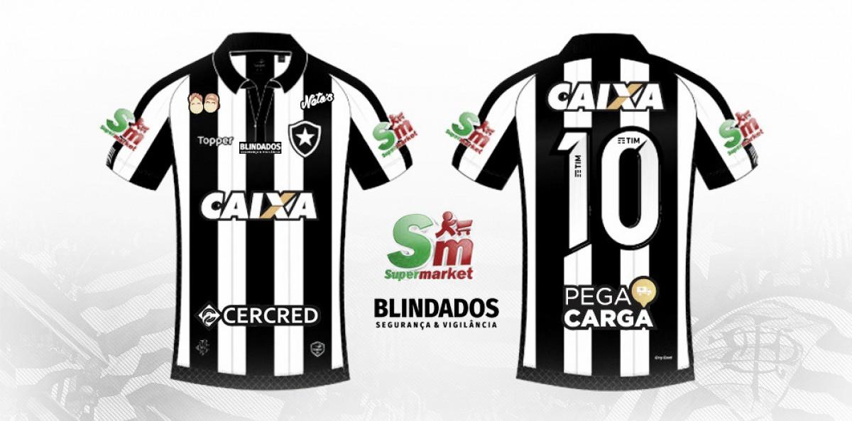 Botafogo firma patrocínios pontuais para segundo jogo da final do Campeonato Carioca