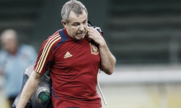 Fallece Damián García, utillero de la Selección española