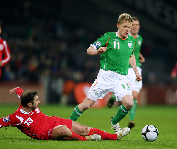 Damien Duff: la última chispa de la bala de Ballyboden