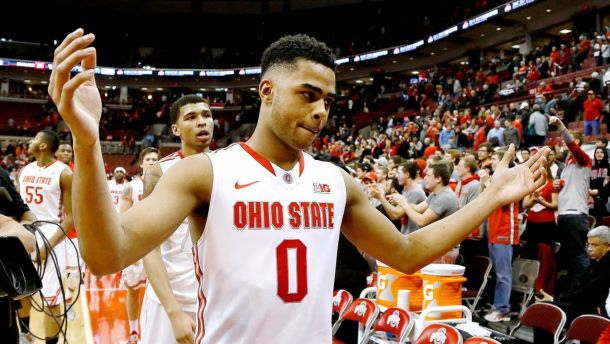 Ohio State All-American D'Angelo Russell Declares for the NBA Draft