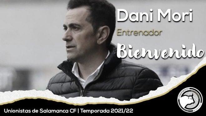 Dani Mori es el nuevo entrenador de Unionistas de Salamanca