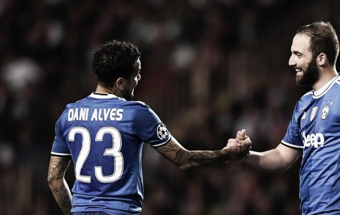 Monaco-Juve, l'arma Dani Alves paga ancora