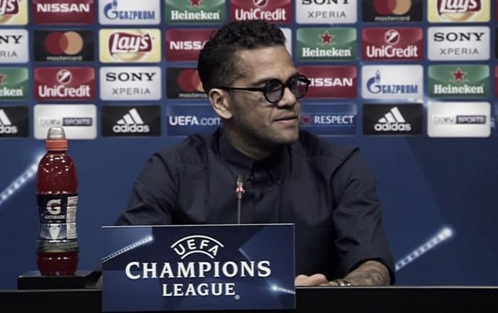 """Barça-Juve, il ritorno di Dani Alves: """"Se passiamo, eliminiamo la squadra più forte al mondo"""""""