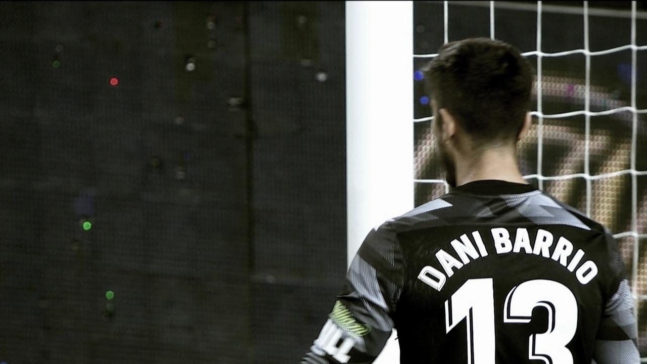 Dani Barrio entra en el top 5 de mejores paradas de la pasada jornada