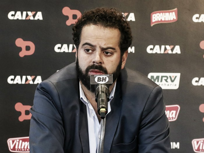 À procura de investidores, presidente diz que não desistirá de novo estádio do Atlético-MG