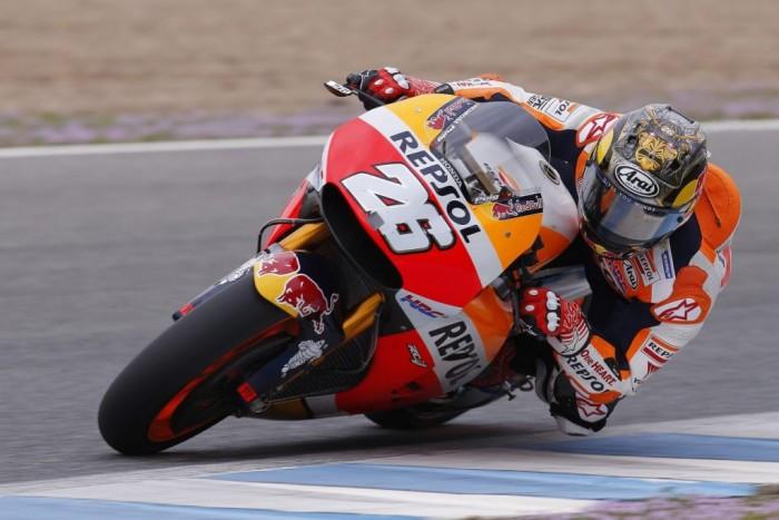 MotoGP, Jerez - Libere 1: Pedrosa brucia Crutchlow