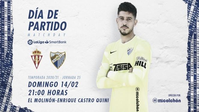 Previa Real Sporting - Málaga CF: ataque al Molinón